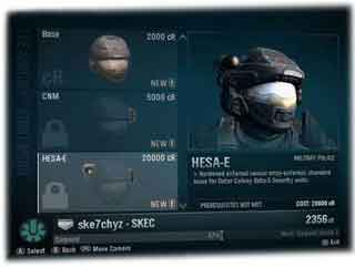 Personnaliser Halo Reach