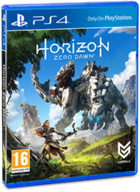 Horizon Zero Dawn cover ps4