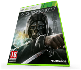 DisHonored jaquette cover xBox